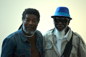 Wadada Leo Smith and Pharoah Sanders.
