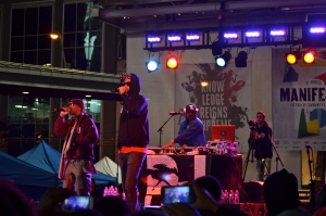 Souls of Mischief take the stage.