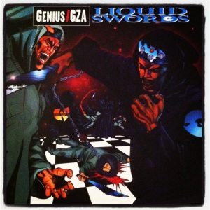 Chess box edition of Gza's Liquid Swords (limited to 750 copies, Record Store Day find).