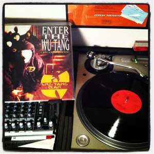 My original copy of Enter the Wu-Tang: 36 Chambers.
