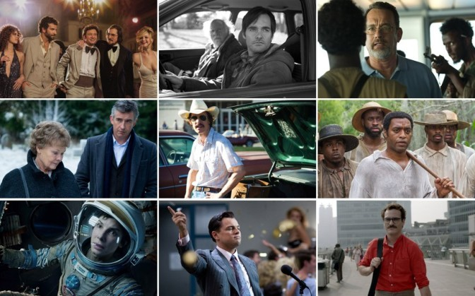 Top 15 Films of 2013 & Oscar Predictions