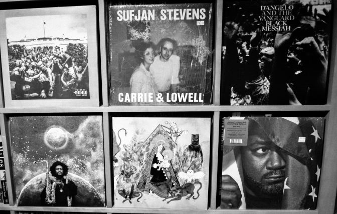 Top 5 Records of 2015