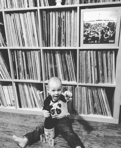 DJ Phoenix (my son) getting into the mix. #DJPhoenixDailyRecord