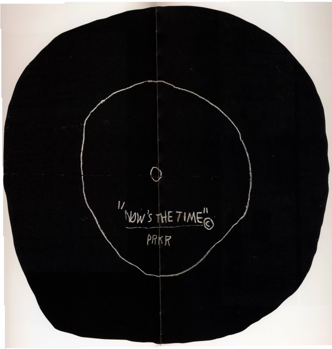 Now's the Time [Basquiat inspired poem]